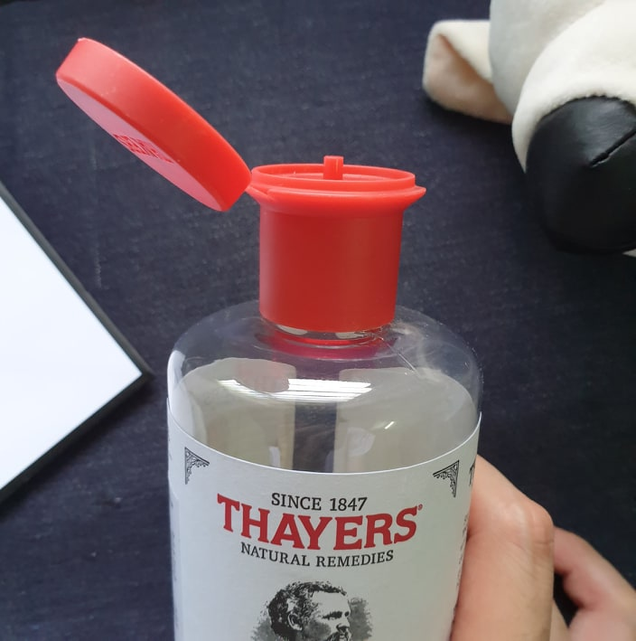 Review nước hoa hồng Thayers Witch Hazel Cucumber1