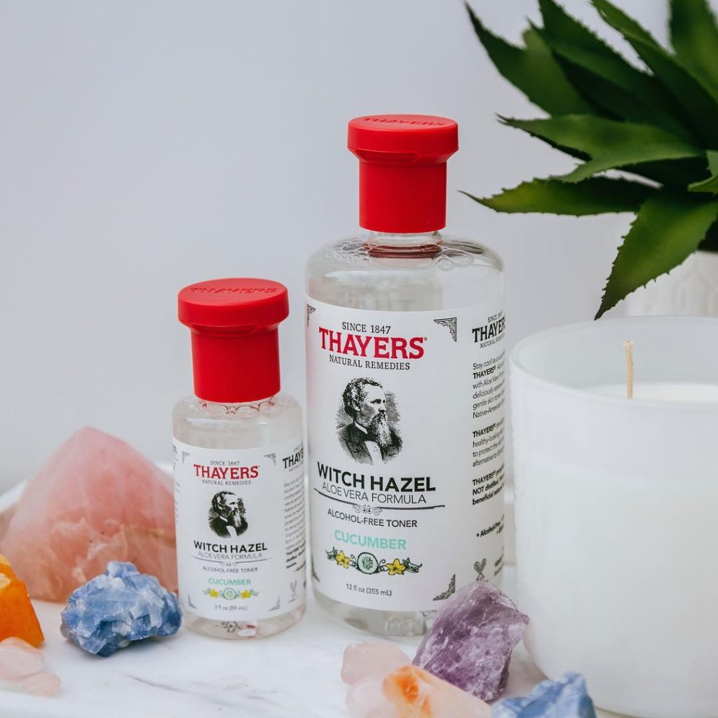Review nước hoa hồng Thayers Witch Hazel Cucumber4