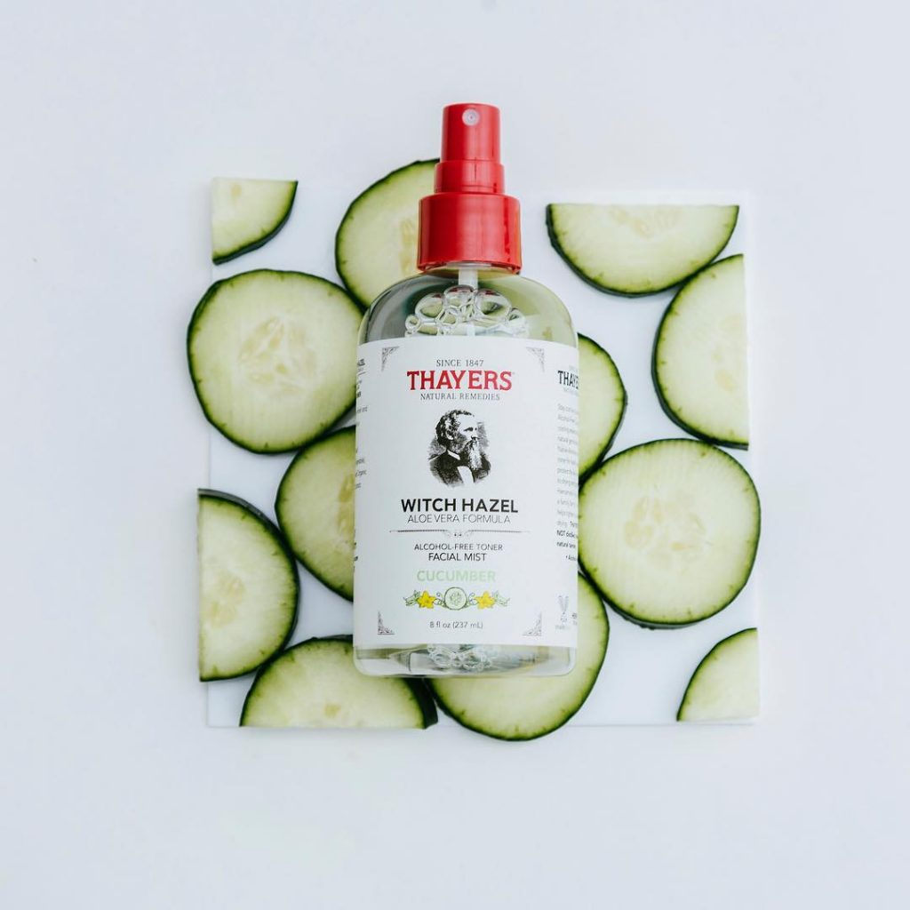 Review nước hoa hồng Thayers Witch Hazel Cucumber 6